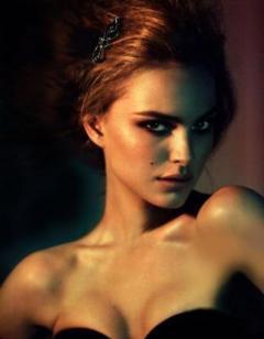 Natalie Portman, nevus en mejilla