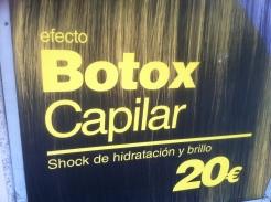 """""""Botox capilar"""" como reclamo publicitario"""