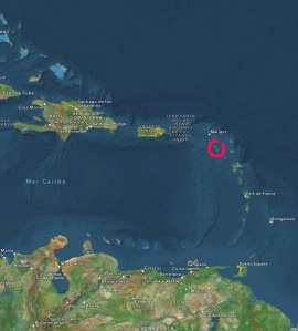 St. Kitts & Nevis en las Antillas de Barlovento