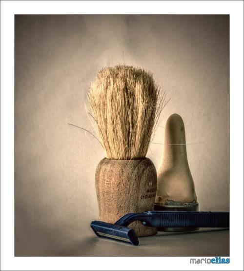 Útiles para afeitado en húmedo.