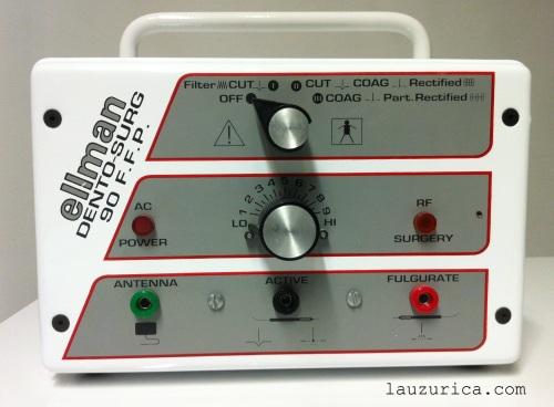 Electrobisturí de radiofrecuencia Ellman