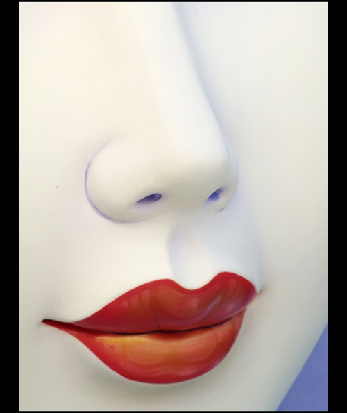 Cara lisa y sin arrugas. Volumen en labios