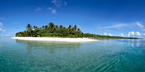 Islote en Wallis y Futuna, Polinesia
