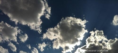 Nos da el sol aunque este oculto por nubes