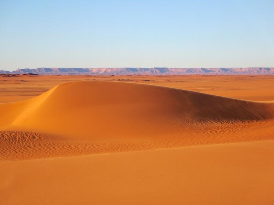 Desierto del Sahara en Chad. Foto: David Stanley