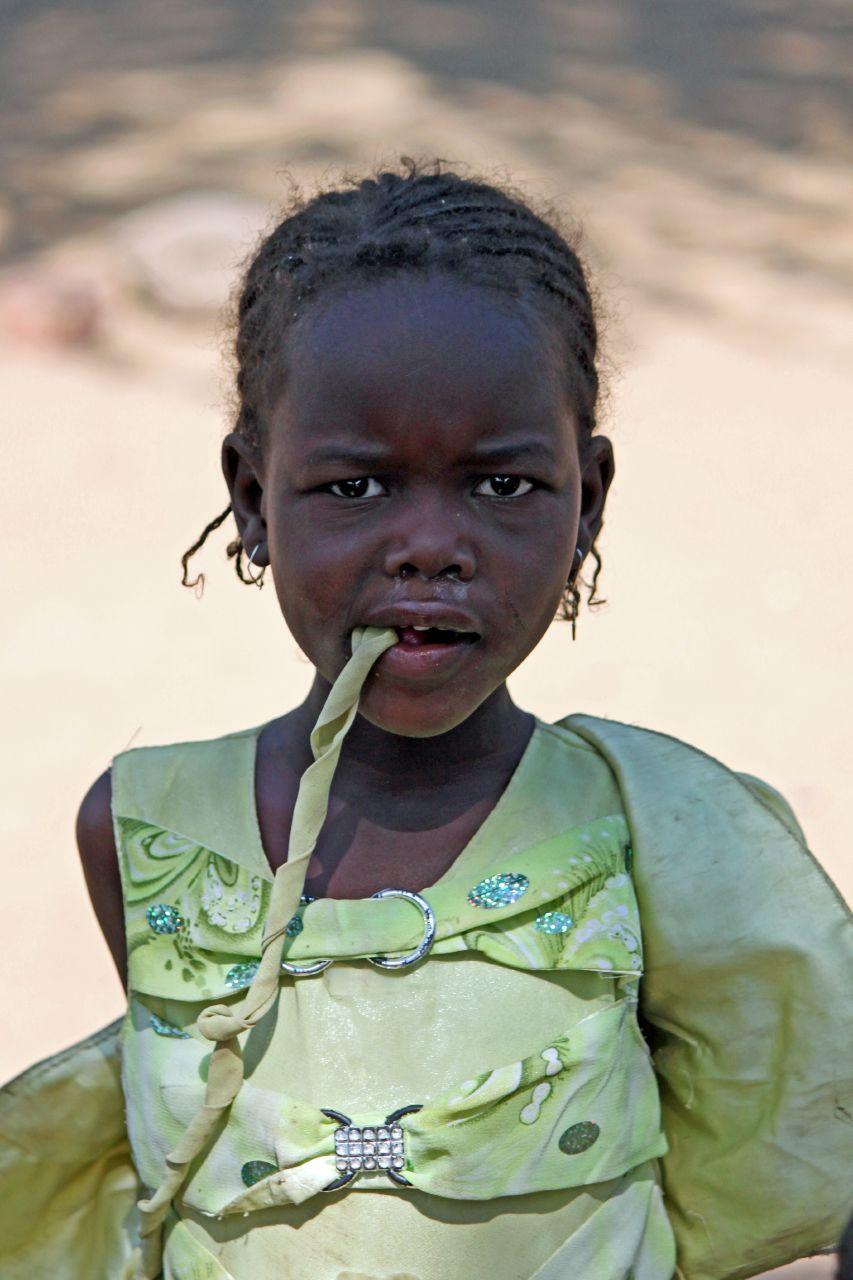 Niña de Chad. Foto: Carsten ten Brink