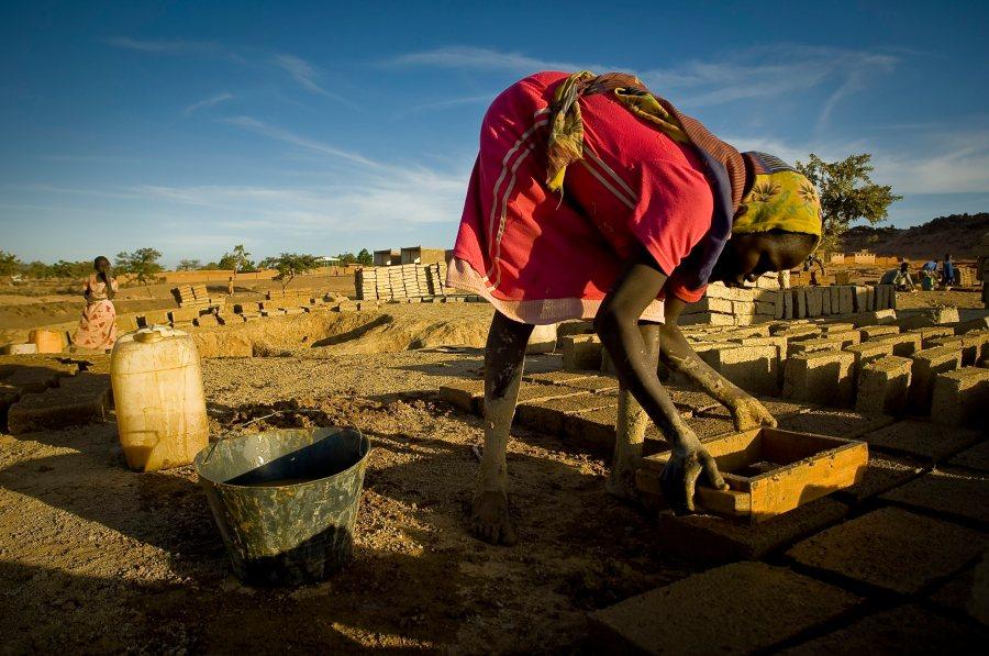 Refugiados de Darfur. Foto: European Commission DG